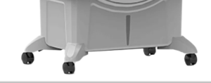 Air cooler with castors allow to move them freely