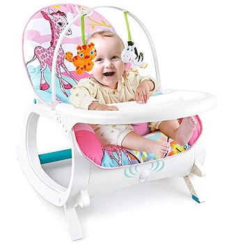 Baby Bucket Newborn to Toddler Rocker Cum Reclining Chair