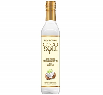 Coco Soul Cold Pressed Natural Virgin Coconut Oil for Baby