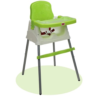 LuvLap 4 in 1 Convertible High Chair Cum Booster Seat for Baby