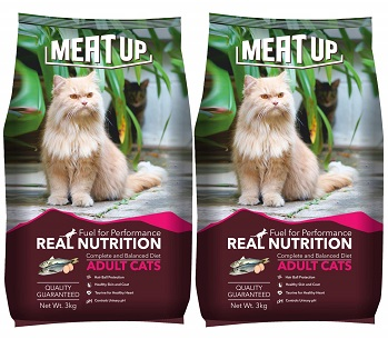 Meat Up Adult Dry Cat Food