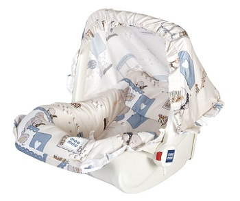 Mee Mee 5 in 1 Baby Cozy Carry Cot Cum Rocker