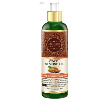 Morpheme Remedies Cold Pressed Sweet Almond Oil