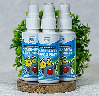 Moskito Safe Natural Mosquito Repellent Body Spray for Kids