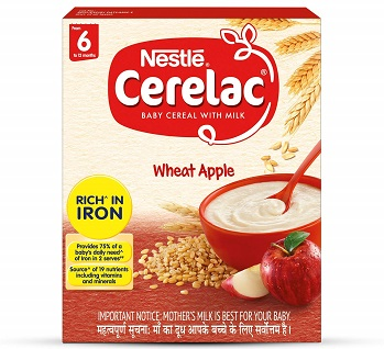 Nestle CERELAC Fortified Baby Cereal with Milk