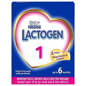 Nestle LACTOGEN 1 Infant Formula Powder for 0 to 6 month babies