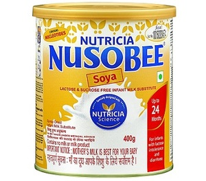 Nusobee Soya Infant Formula Tin