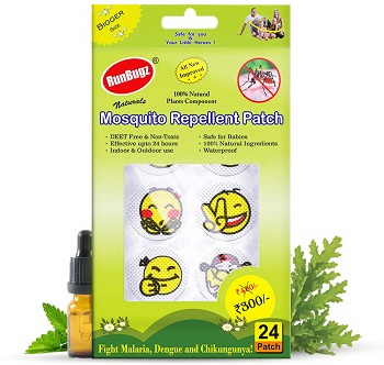 RunBugz Mosquito Repellent Patches for Babies