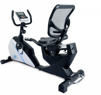 Welcare WC1588 Recumbent Exercise Bike with Pulse Monitor and LCD Display