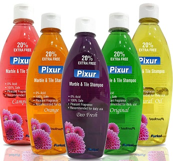 pixur Marble and Tile Shampoo Floor Cleaner